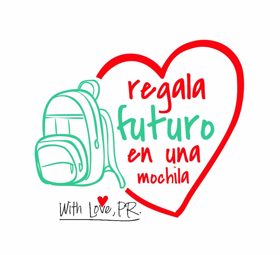 Logo Regala Futuro en Una Mochila 2016