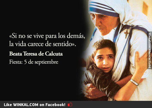 La Madre Teresa De Calcuta Una Santa Para La Humanidad La